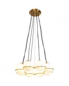 Kare Hanglamp Globes Gold