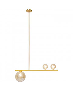 Kare Hanglamp Talea Gold