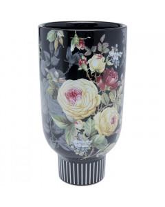 Kare Vaas Rose Magic Black 27cm