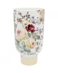 Kare Vaas Rose Magic White 27cm