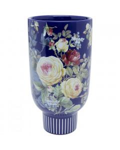 Kare Vaas Rose Magic Blue 27cm