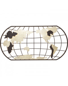 Kare Wandlamp Earth Grid