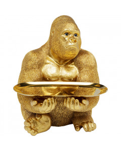 Kare Decofiguur Butler Gorilla