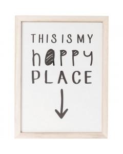 Kare Fotolijst My Happy Place