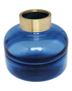 Kare Vaas Positano Belly Blue 21cm