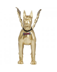 Kare Decofiguur Toto XL Gold With Wings