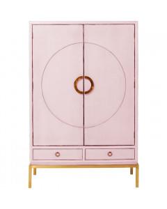Kare Kabinetkast Disk Pink