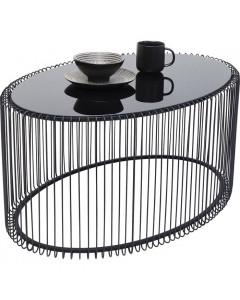 Kare Salontafel Wire Uno Oval Black