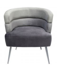 Kare fauteuil Sandwich Grey