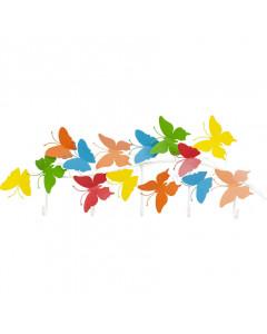 Kare Kapstok Colourful Butterfly