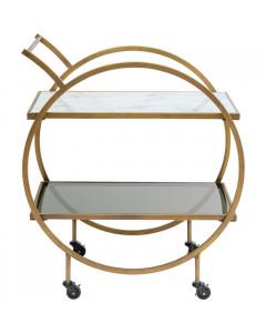 Kare Trolley Loft Brass