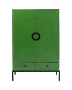 Kare Kledingkast Disk Green