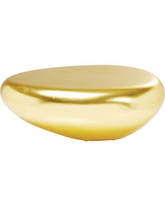 Kare Salontafel Pebble Gold