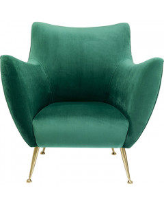 Kare Fauteuil Goldfinger Green