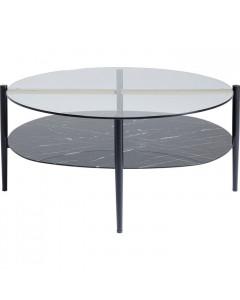 Kare Salontafel Noblesse Oval 97x91 cm