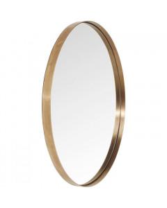 Kare Spiegel Curve MO Copper Ø100cm