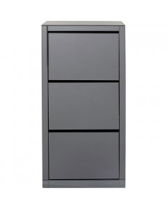 Kare Schoenenkast Luxury 3 Grey