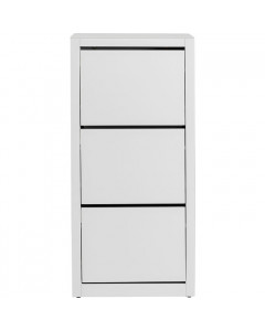 Kare Schoenenkast Luxury 3 White