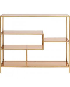 Kare Boekenkast Loft Gold 100x115 cm