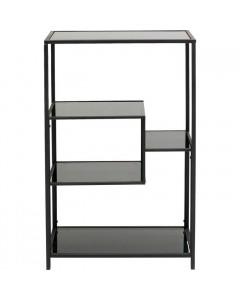 Kare Boekenkast Loft Black 100x60 cm