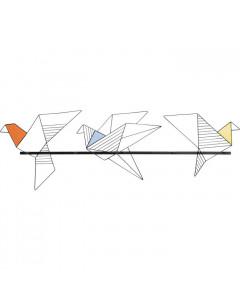 Kare Kapstok Origami Bird