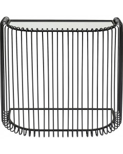 Kare Sidetable Wire Black