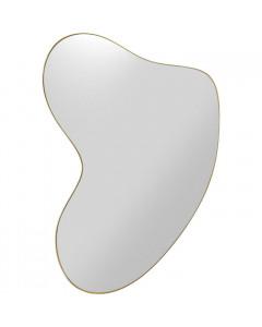 Kare Spiegel Shape Brass 110x120cm