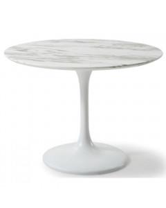 Kare Eettafel Solo Marble White