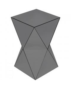 Kare Bijzettafel Luxury Triangle Grey