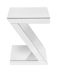 Kare Bijzettafel Luxury Z White