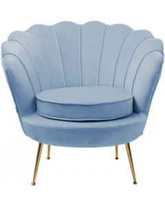 Kare Fauteuil Water Lily Aqua