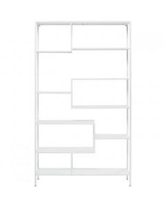 Kare Boekenkast Loft White 115x195cm