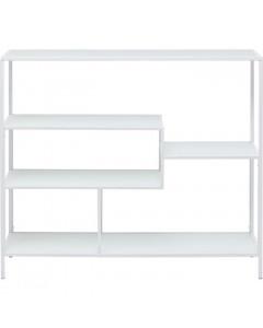 Kare Boekenkast Loft White 115x100cm
