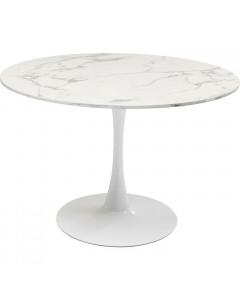 Kare Eettafel Schickeria Marbleprint White