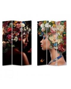 Kare Kamerscherm Flowery Shoulder vs Bunch Flowers