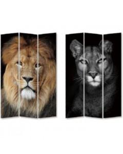 Kare Kamerscherm King Lion vs Cat Girl