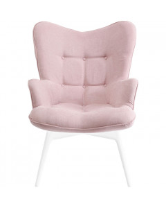 Kare Fauteuil White Vicky Rose