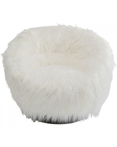 Kare Fauteuil Fiffy White