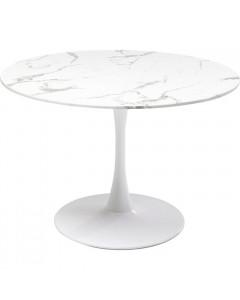 Kare Eettafel Veneto Marble White