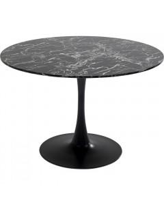 Kare Eettafel Veneto Marble Black