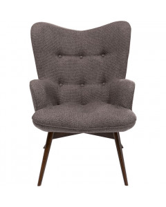 Kare Fauteuil Vicky Dolce Brown