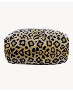 Doing Goods Poef Leopard
