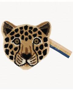 Doing Goods Vloerkleed Loony Leopard Head