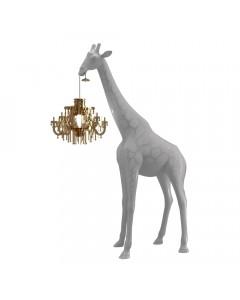 Qeeboo Vloerlamp Giraffe In Love XS Cold Sand