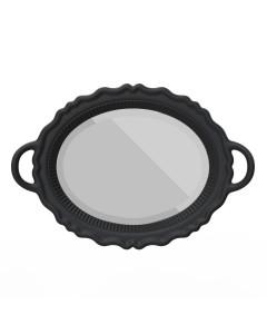 Qeeboo Spiegel Mirroir Black