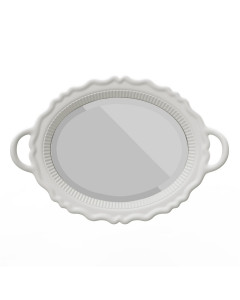 Qeeboo Spiegel Mirroir White