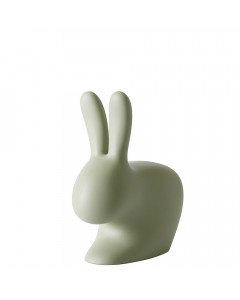 Qeeboo Stoel Rabbit Baby Green