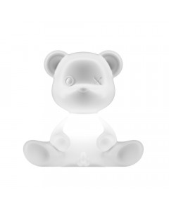 Qeeboo Tafellamp Teddy Boy Indoor Plug White