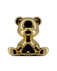Qeeboo Lamp Teddyboy Indoor Plug Gold