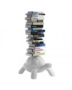 Qeeboo Boekenkast Turtle Carry White